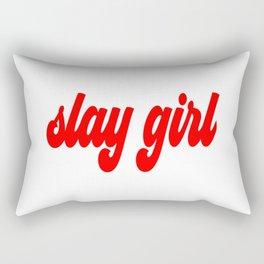 Slay Girl Rectangular Pillow