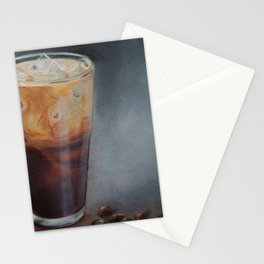 Iced Latte Stationery Cards