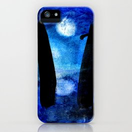 Three moons and the stones iPhone Case