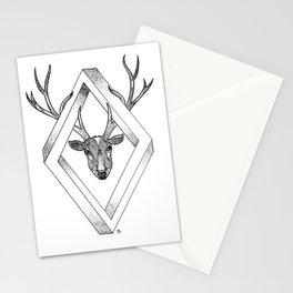 Infinite Deer Stationery Cards