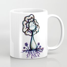 """Just Start"" Flowerkid Coffee Mug"