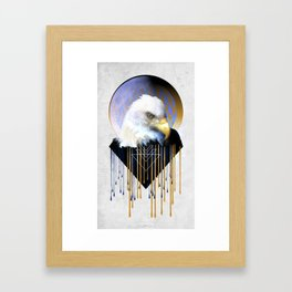 Wise Eagle Framed Art Print