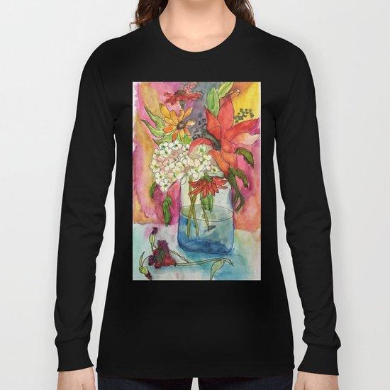 Fall Flower Bouquet Long Sleeve T-shirt