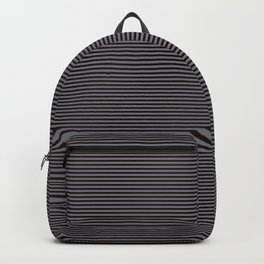 Soft Parisian Stripes Backpack