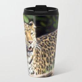 Amur Leopard Travel Mug