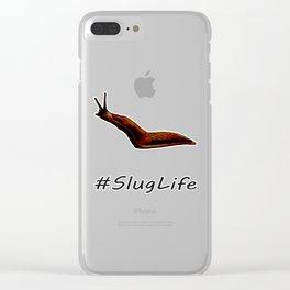 #SlugLife Clear iPhone Case