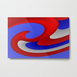 sweeping lines for your home -5- 4th of July Metal Print