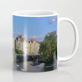 Sunny Day in Prague - View from Legion Bridge Coffee Mug