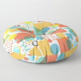 Modern Abstract 5 Floor Pillow