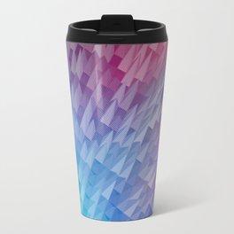 Vibrant Pyramids Travel Mug