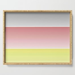 Flag of Germany  - With color gradient Serving Tray