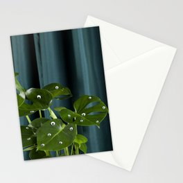 Monster Monstera Stationery Cards