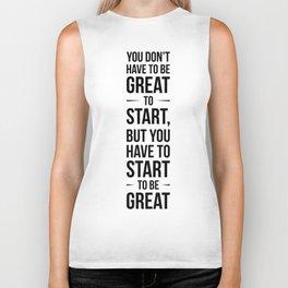 Start! Biker Tank