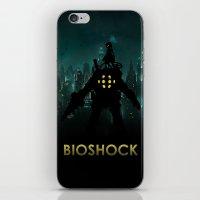 bioshock infinite iPhone & iPod Skins featuring Bioshock by Pixel Design