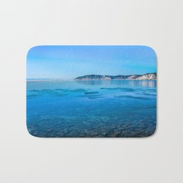 The Angara river Bath Mat