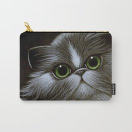 BICOLOR PERSIAN CAT Carry-All Pouch
