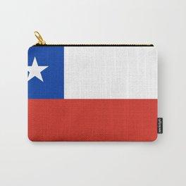 flag of Chile- -Spanish,Chile,chilean,chileno,chilena,Santiago,Valparaiso,Andes,Neruda. Carry-All Pouch