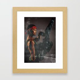 You always were an asshole, Gorman. Framed Art Print