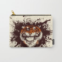 TigARRGH (Maroon and Orange) Carry-All Pouch