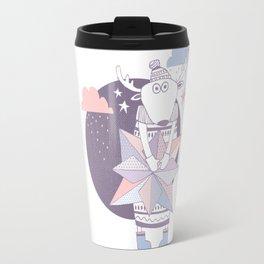 Christmas Cute Deer Travel Mug