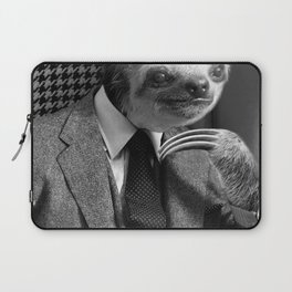 Gentleman Sloth #6 Laptop Sleeve