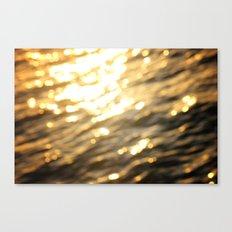 Golden Paradise Canvas Print