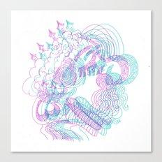 dreams in color  Canvas Print