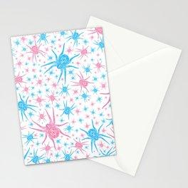 Halloween Spider (white) Stationery Cards