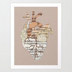 Sound Of My Heart Art Print