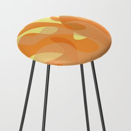 Pastel Flames Counter Stool