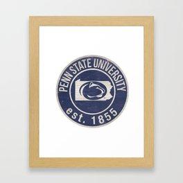 Penn State University Framed Art Print