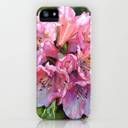 Courtenay Lady Rhododendron iPhone Case
