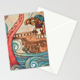 Simbad: Monsters of deep sea. Stationery Cards