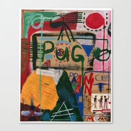Pog Afterlife (Panel #1) Canvas Print