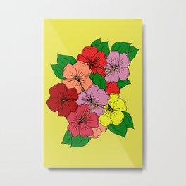 Hibiscus Flowers #1 Metal Print