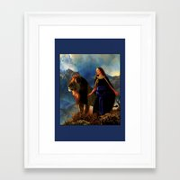 narnia Framed Art Prints featuring Narnia by Whelan Galleries