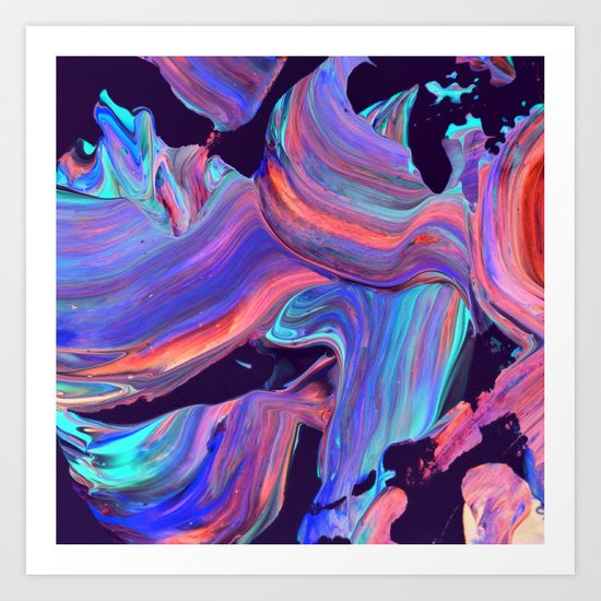 untitled abstract Art Print by Djuno Tomsni   Society6 - photo #8