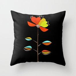 Fantasy . Flower . Love . Throw Pillow