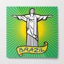 Christ the Redeemer statue in Rio de Janeiro, Brazil by tribaliumart