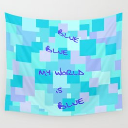 Aquasquare Cubed Wall Tapestry