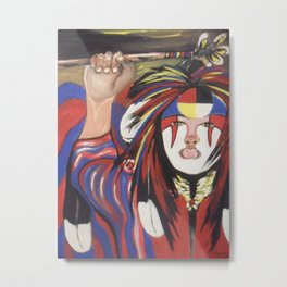 IDLE NO MORE Metal Print