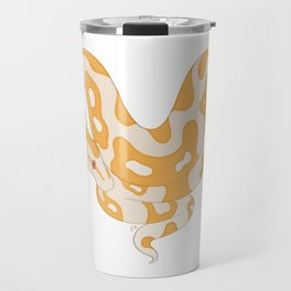 I (heart) Ball Pythons (albino) Travel Mug