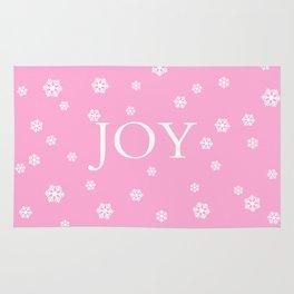 Winter Joy - pink - more colors Rug
