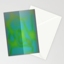 Yellow Color Leak Stationery Cards