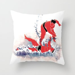 SLAM! Throw Pillow