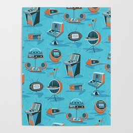 SPACE AGE HIFI Poster