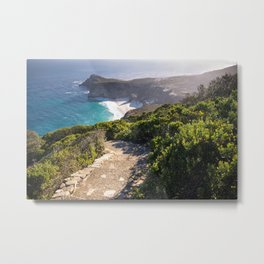 View of Cape Point in Cape Town, South Africa Metal Print
