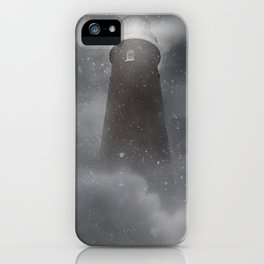 An old lighthouse iPhone Case
