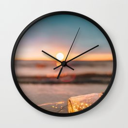 Element: Water (013) Wall Clock