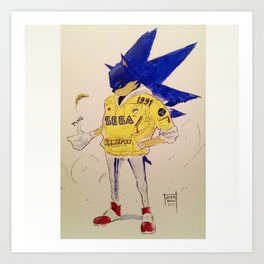 1991 Sonic Art Print